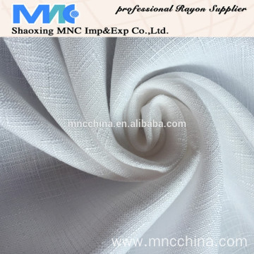 MM16029JD poly and rayon mixture slub fabric