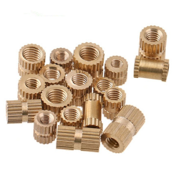 200PCS M3*4*4 MM Copper inserts Injection nut embedded parts copper knurl nut