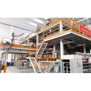 PP spunbonded nonwoven equipment line