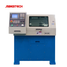 BTL210 1100W Mini small cnc metal lathe machinery