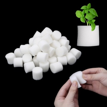 50pcs/set Soiless Hydroponic Seed Gardening Plant Tools Planted Sponge Vegetable Cultivation System 32x30mm 45x30mm Optional