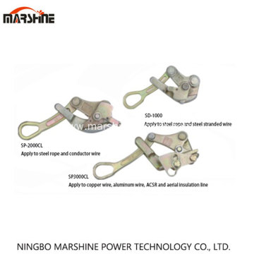 Wire Gripper for Overhead Line Construction