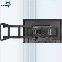 TV Wall Mount Bracket for 32-80Inch TV Full Motion TV Frame Swivel Articulating 4 Long Arms Max VESA 600x400mm 100kg Loading