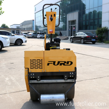 Manual vibratory roller Smooth Drum Road Roller walk behind compactor FYL-750