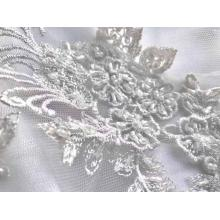 handwork embroidery rhinestone sequin bead pearl fabric