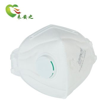 Respirator foldable Protective 4layers valved mask for adult