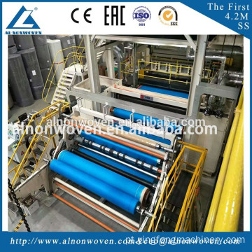 Professional AL-1600 S Spunbond Nonwoven Machine Made in China