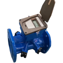 Smart Woltmann Ultrasonic Water Meter