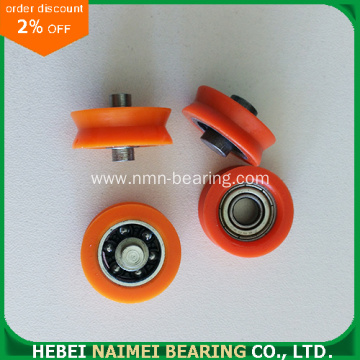 High Performance Sliding Door Nylon Pulley Wheel Bearing