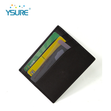 New Men Pu Leather Business Card Holder