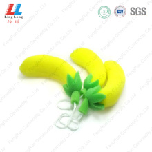 3D Banana fruit bath sponge
