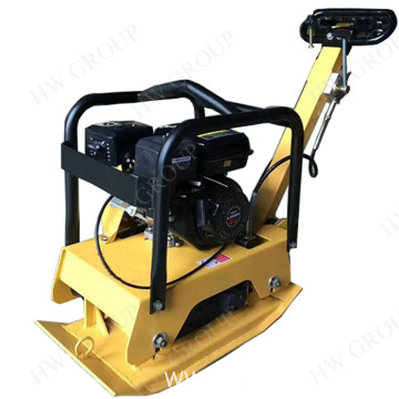 Hand push diesel vibration plate compactor