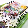 Wholesale cardboard 500 pieces jigsaw puzzle Games