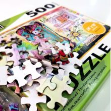 custom environmentally friendly children develop puzzle toy