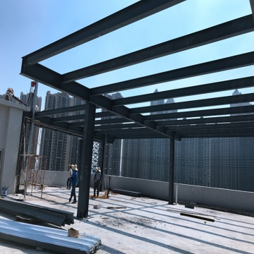 50x50 metal building Light Steel Frame Structure