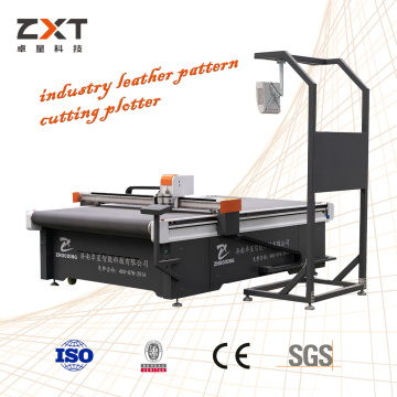 Leather Cutting Machine Cuts Through Knife Tools