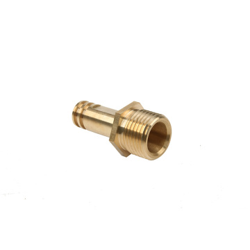 Brass Out let Connector