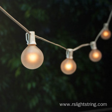 G50 Bulbs Edison Globe String Lights
