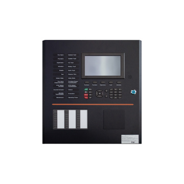Addressable fire alarm panel with 2 loops