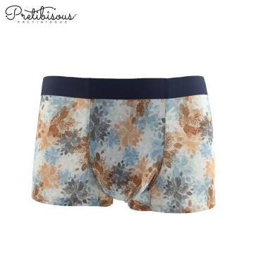 Printing pattern boxer shorts for men underwear