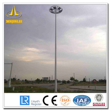 Powder Coating Steel High Mast Poles