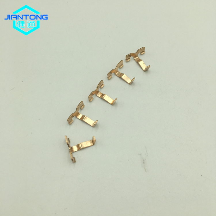 Stamped Copper Socket Fitting Electron Parts Copper Contacts