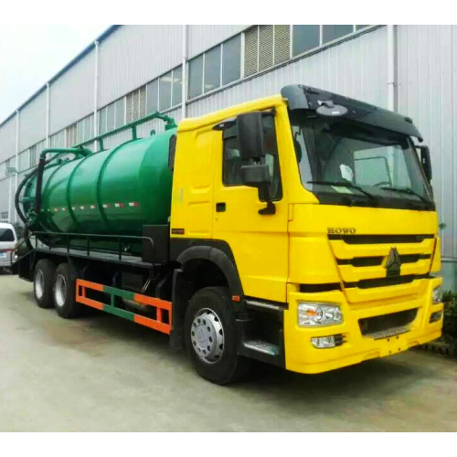 Vacuum Pump Sewage Suction Truck 18CBM