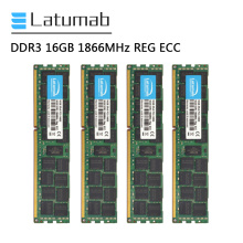 Latumab RAM DDR3 16GB 32GB 64GB 1866MHz REG ECC Server Memory PC3-14900 DDR3 RAM 240 Pins Memoria RAM DDR3 Memory Module