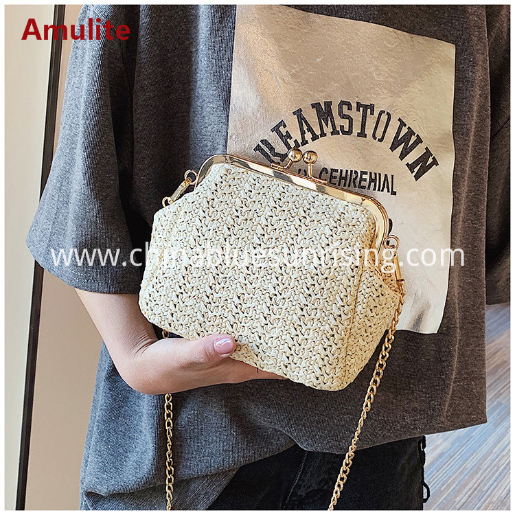 chain straw bag