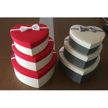 Valentine's Day Heart Shape Rigid Gift Box