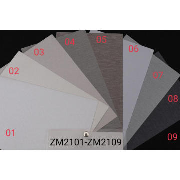 OEM 100% Polyester Customized Plain Roller Blind Fabric