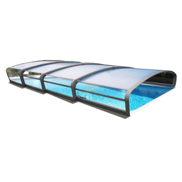 Slatted Reel Outdoor Swimming Telescopic Pool Cover