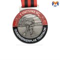 Custom running finisher medals