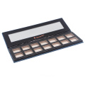 OEM packaging paper eyeshadow palette 14 color