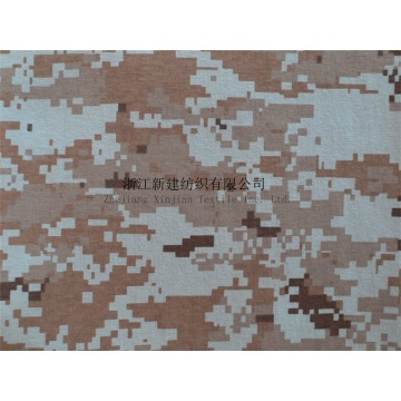 100% Cotton Knitting Camouflage Fabric