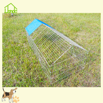 Galvanized Little Chicken&Rabbit Metal Cage