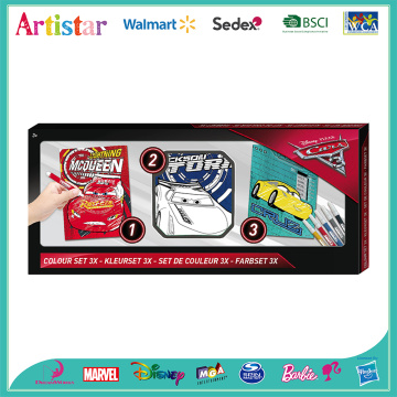 Disney Cars poster coloring set 2