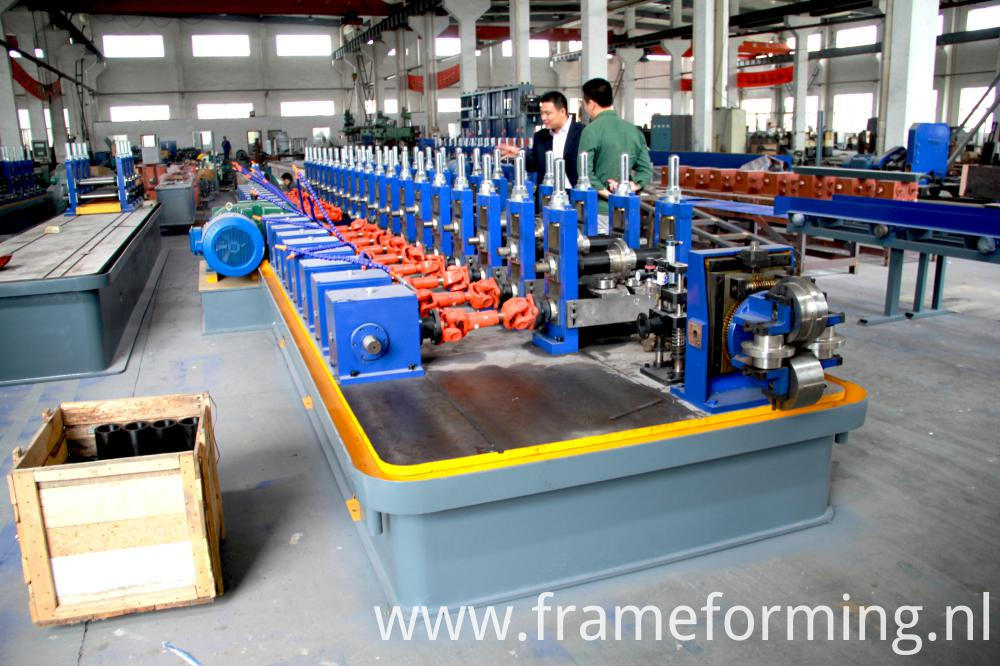 steel pipe machine