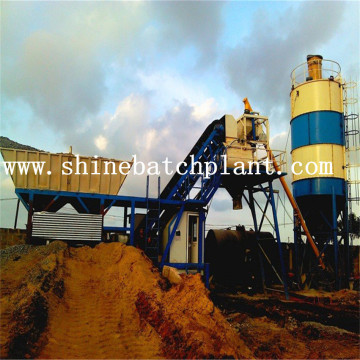 30 Hot Sale Portable Concrete Batching Plant