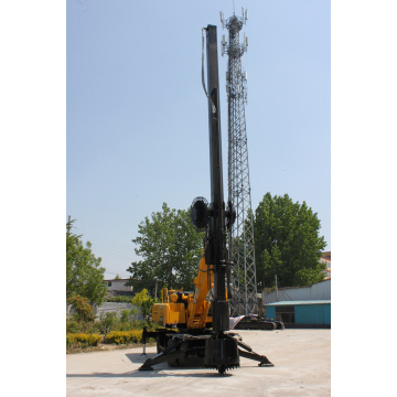 Wheel rotary drilling rig can be customized