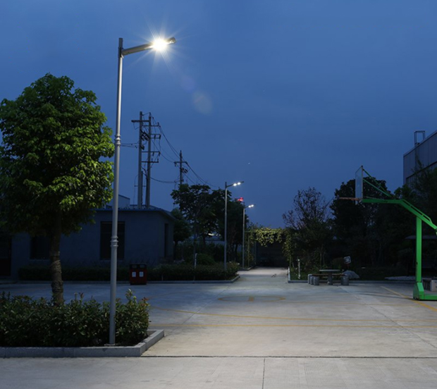 Solar Led Street Light With Pole