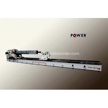 Operator Friendly Rubber Roller Grooving Machine