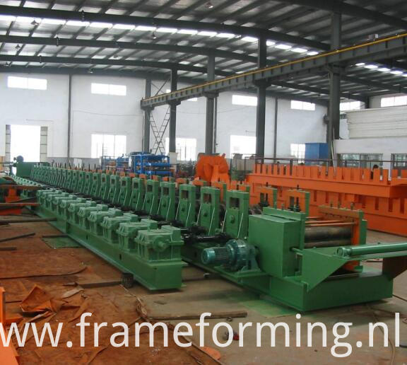 grain storage Curved silo sheet roll forming machine 5