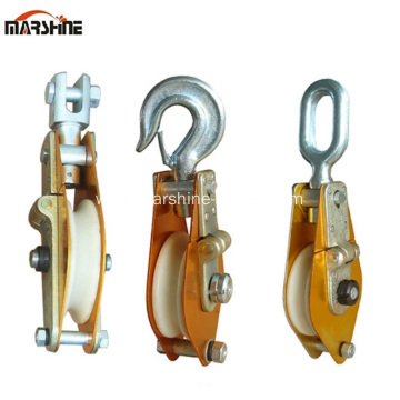 Nylon Sheave Wire Rope Hoisting Tackle