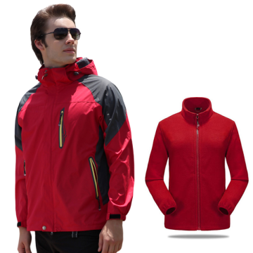 Mens Fashionable Waterproof Softshell Puffer Jacket