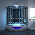 luxury  steam shower room with jacuzzi/whirlpool bath