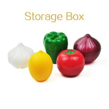 Eco Friendly Food Crisper Storage Box Kitchen Keep Fresh Containers Tools Tomato Green Pepper Shaped Sealed Box Case Fresh Bowl