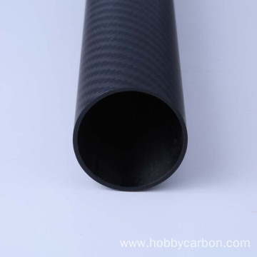 100% carbon round customized carbon fiber tube