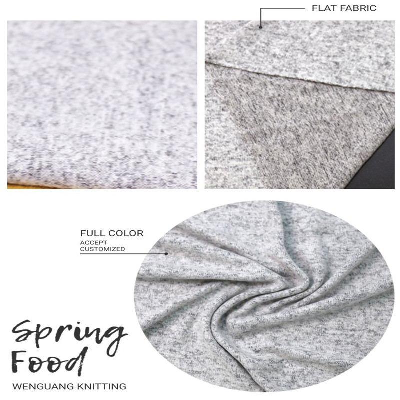 Cheap Imitation Knitted Cashmere Jersey Material Fabric (2)