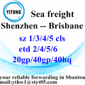 Shenzhen Sea Freight Shipping to Brisbane